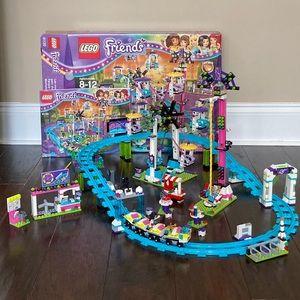 Lego Friends Amusement Park Roller Coaster 41130